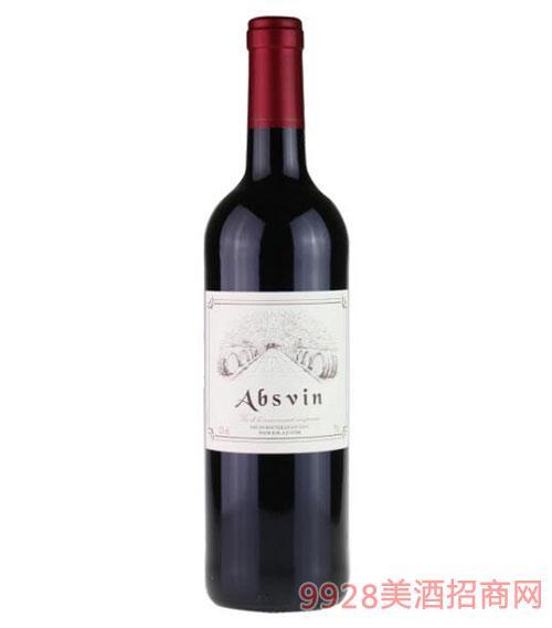 法国艾贝丝干红葡萄酒750ml
