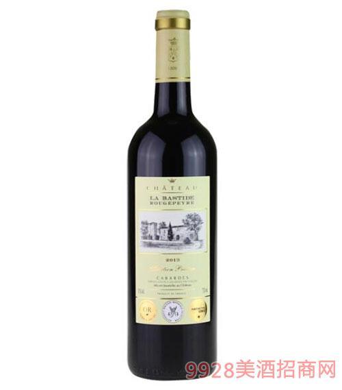 法国罗杰贝尔城堡干红葡萄酒750ml