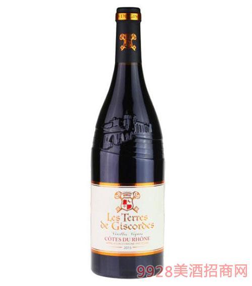 法国吉高罗纳河谷干红葡萄酒750ml