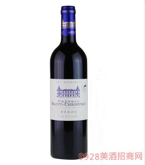 法国圣克利城堡干红葡萄酒750ml
