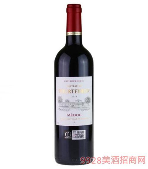 法国图特隆城堡干红葡萄酒750ml