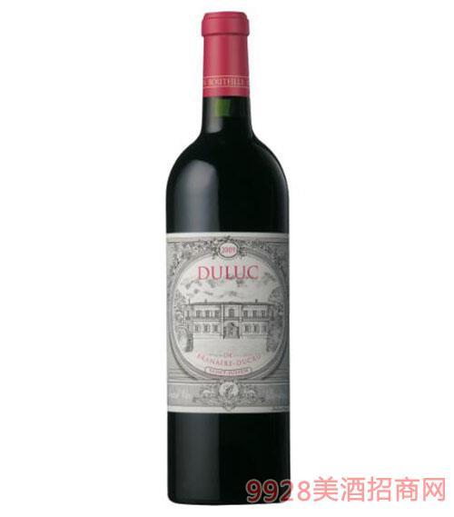 法国周伯通庄园干红葡萄酒(副牌)750ml