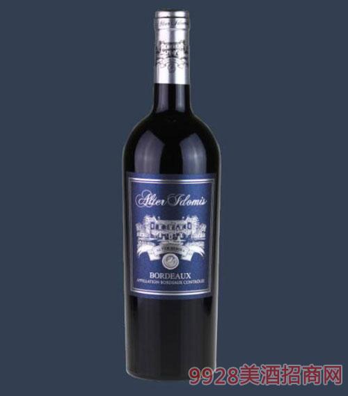 法国宝马阿尔玳(波尔多)干红葡萄酒750ml