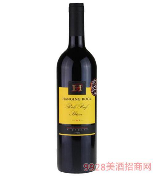 汉宁洛克珊瑚礁西拉子干红葡萄酒750ml