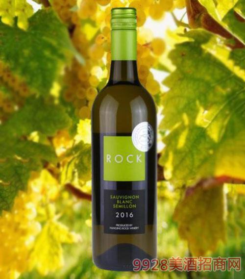 洛克混酿干白葡萄酒750ml