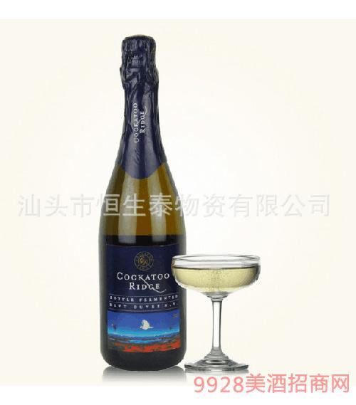 澳洲原装进口葡萄酒皇冠鹦鹉庄园气泡葡萄酒甜红葡萄酒
