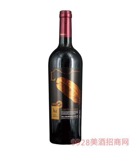 裕雅海岸葡园干红葡萄酒 750ml 13.5%vol