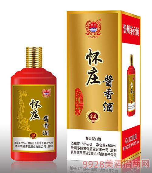 怀庄酱香酒窖藏10 53度 500ml