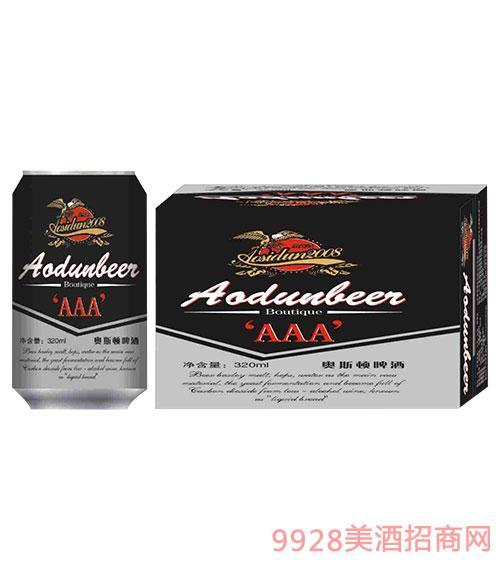 奥斯顿啤酒3A 320ml罐装