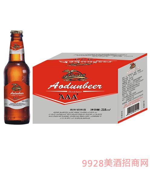 奥斯顿啤酒218ml瓶装