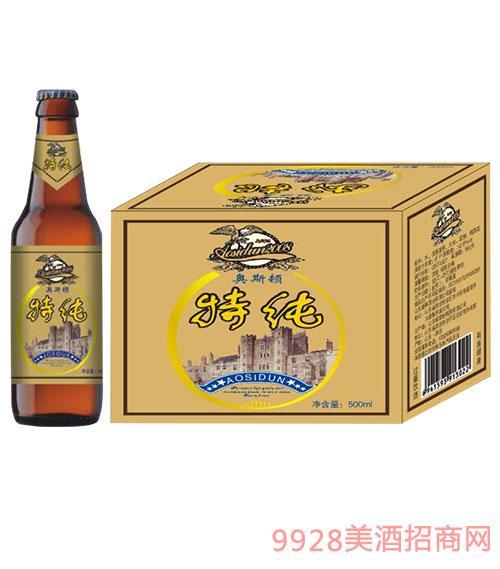 奥斯顿啤酒特纯500ml瓶装