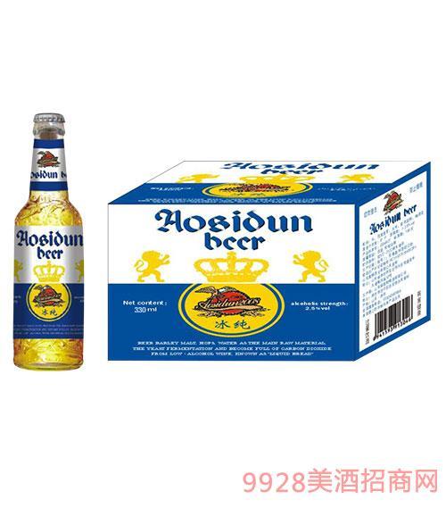 奥斯顿啤酒冰纯330ml瓶装