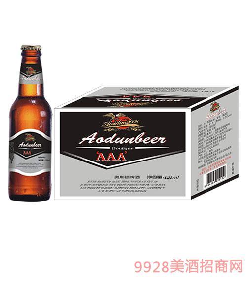 奥斯顿啤酒3A 218ml瓶装