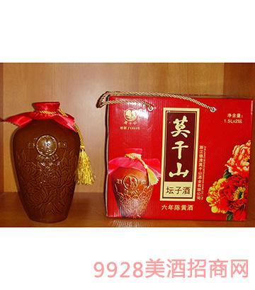 莫干山黄酒牡丹坛1.5L