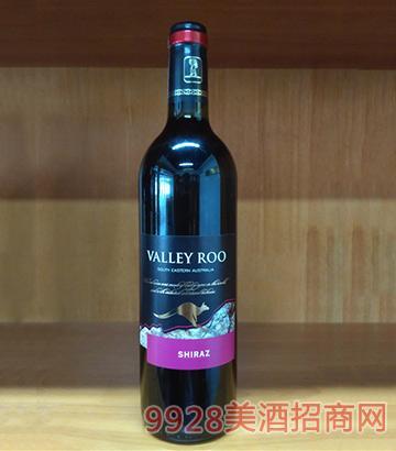 山谷袋鼠西拉干红葡萄酒(黑标A-11)