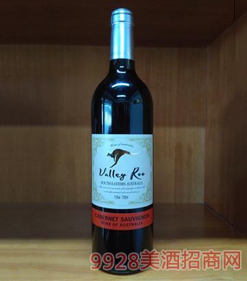 山谷袋鼠赤霞珠干红葡萄酒(银标A-10)