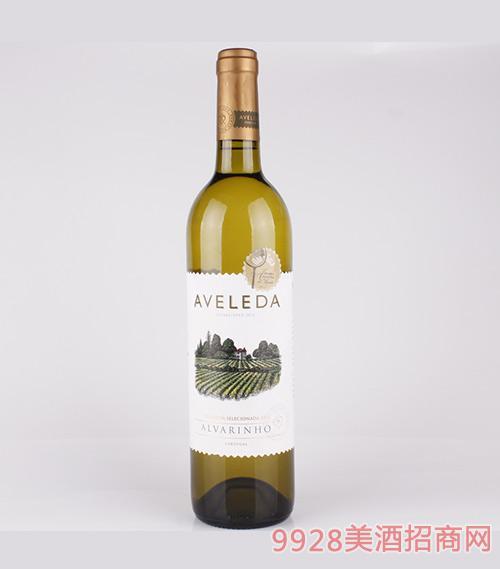 葡萄牙阿沃莱达阿瓦琳诺白葡萄酒