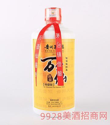 万壶仙酒特壹號酱香型白酒53度500ml