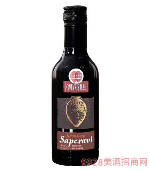 纳帕乌利萨佩拉维葡萄酒大陶罐小瓶12度250ml