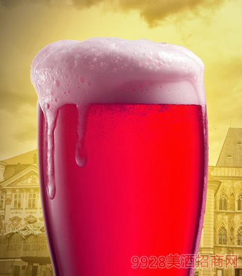 樱桃蔓越莓果啤