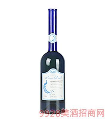 孔雀夫人莫斯卡黛晚收甜白葡萄酒