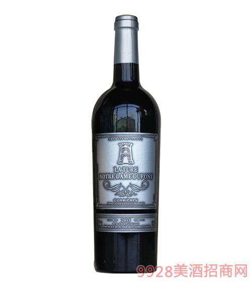 法国拉图圣母山特藏干红葡萄酒(银标)13度750ml