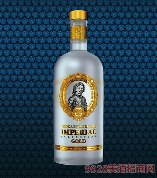 """俄罗斯""""沙皇""""伏特加酒"""