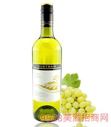 特伦特姆庄园沃德侯干白葡萄酒12度750ml