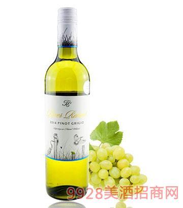 穆雷河灰品诺干白葡萄酒12度750ml
