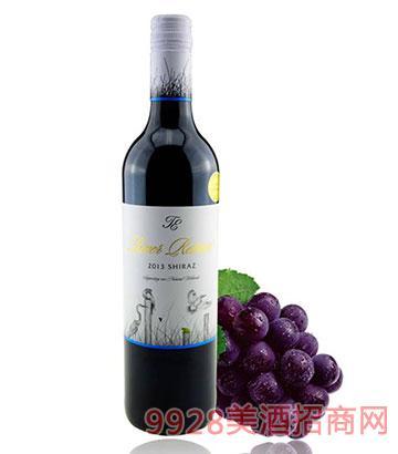 穆雷河西拉干红葡萄酒14度750ml