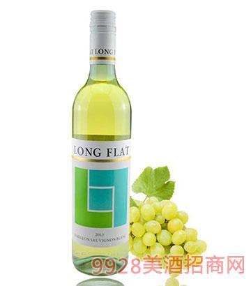 朗芳赛美蓉长相思干白葡萄酒13度750ml