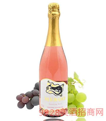 佰德福美露桃红起泡葡萄酒13.2度750ml