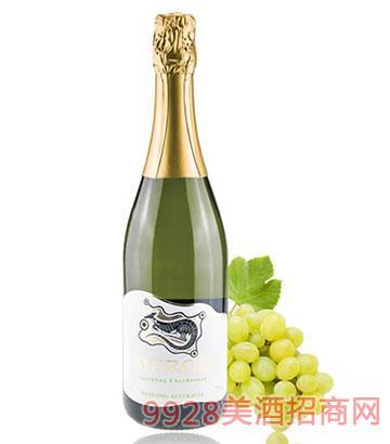 佰德福美露霞多丽起泡葡萄酒13.2度750ml
