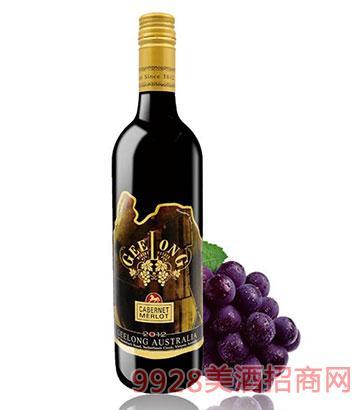 2012佰德福吉隆赤霞珠梅洛干红葡萄酒13.5度750ml