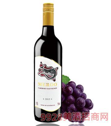 2013佰德福美露赤霞珠干红葡萄酒13度750ml