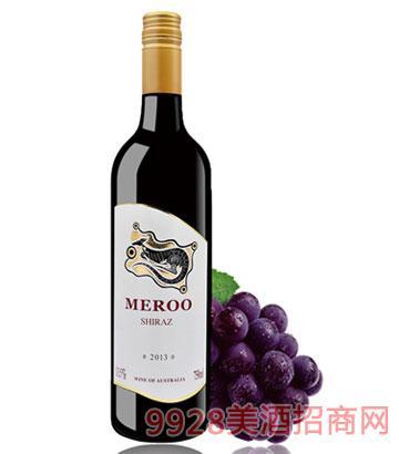 2013佰德福美露西拉干红葡萄酒