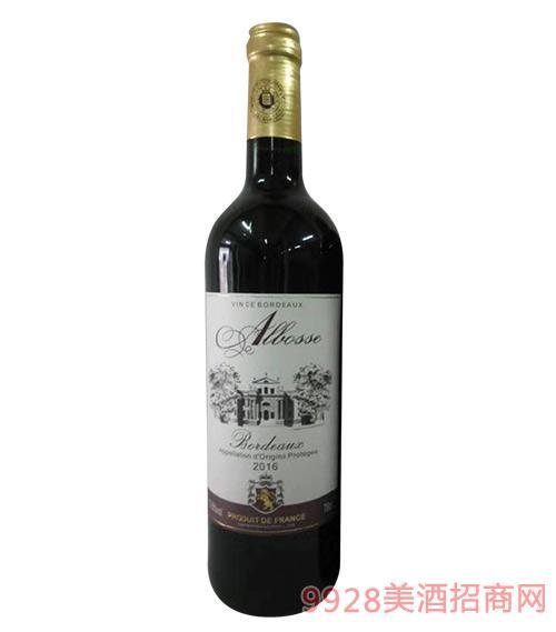 阿尔柏斯干红葡萄酒