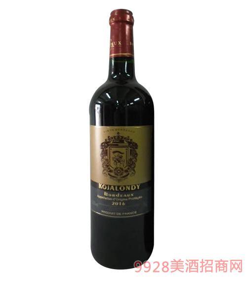 科嘉隆蒂干红葡萄酒