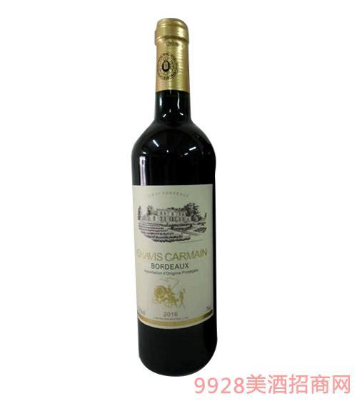 查维斯卡梅干红葡萄酒