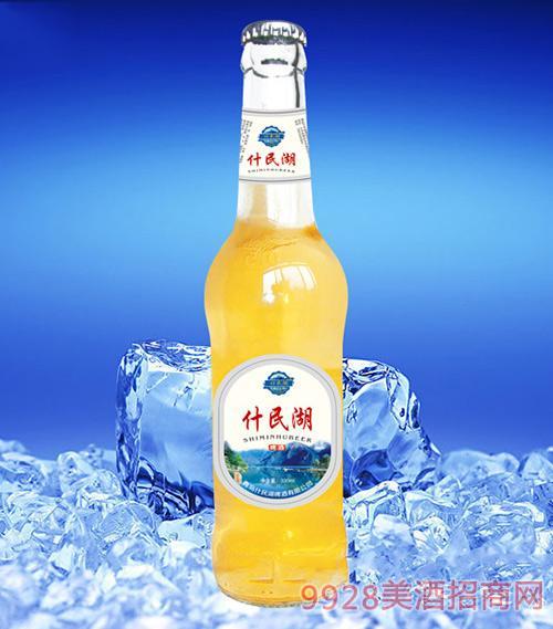 什民湖啤酒330ml(黄瓶)