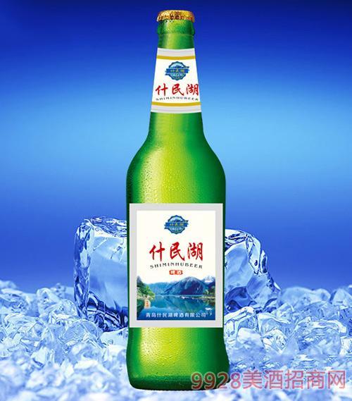 什民湖啤酒500ml(绿瓶)