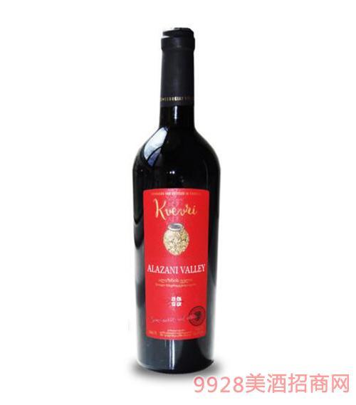 格鲁吉亚科威夫利阿拉赞山谷半甜红葡萄酒