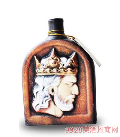 格鲁吉亚酒皇陶罐萨别拉维干红葡萄酒