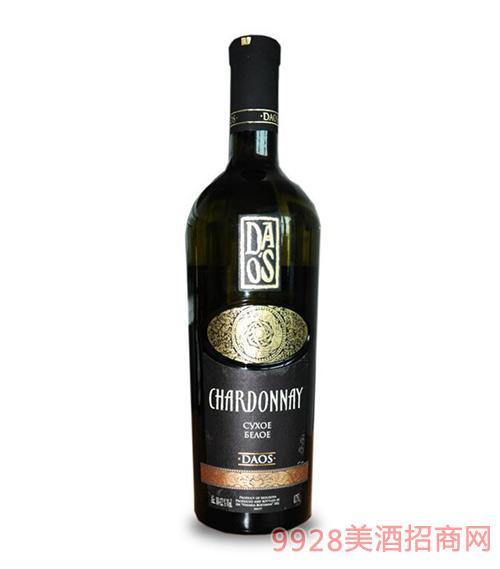 摩尔多瓦原瓶进口普嘉利酒庄达奥斯道斯DAOS干白葡萄酒