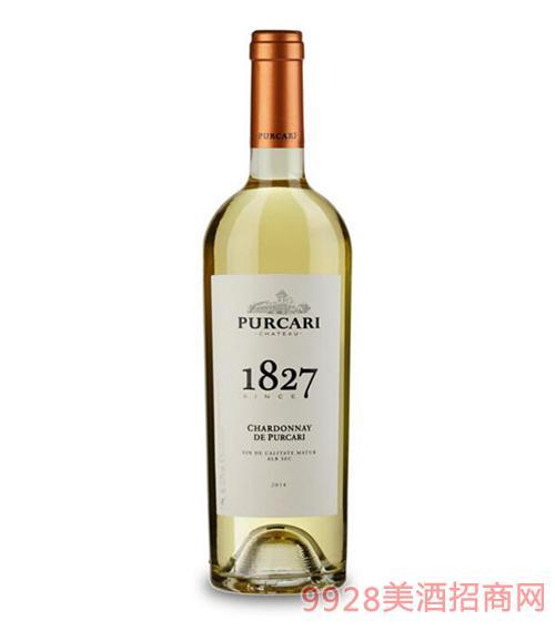 摩尔多瓦原瓶进口葡嘉利酒庄霞多丽干白葡萄酒