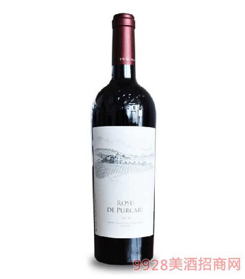 原瓶进口摩尔多瓦红酒普嘉利红宝石葡萄酒