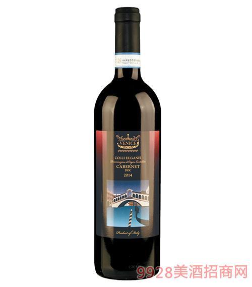 威尼斯激情干红葡萄酒(蓝标)