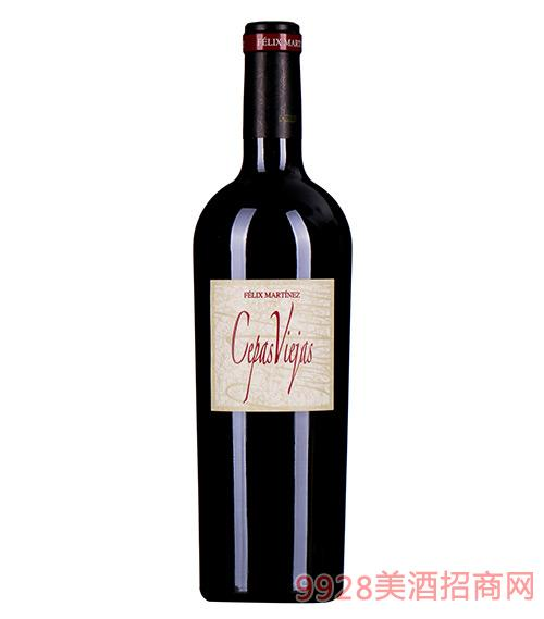 赫罗明菲利斯马丁老藤干红葡萄酒