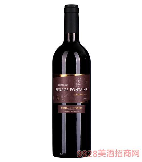 芳庭贝纳干红葡萄酒2013