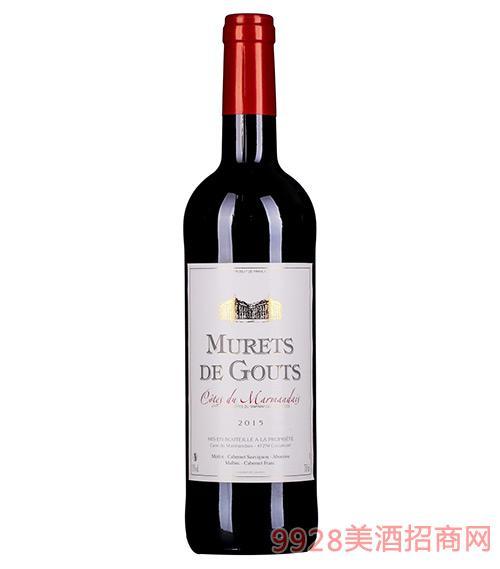 摩瑞特斯干红葡萄酒13度750ml